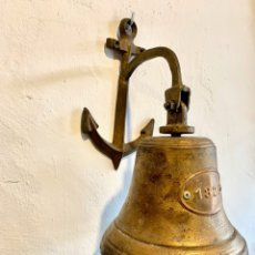 Antigüedades: CAMPANA DE BRONCE. Lote 181033825