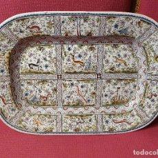 Antigüedades: FUENTE DE PORCELANA 57 X 40CM. Lote 181034666