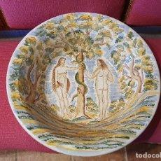 Antigüedades: LEBRILLO CERAMICA SANGINO 52 CM. Lote 181037465
