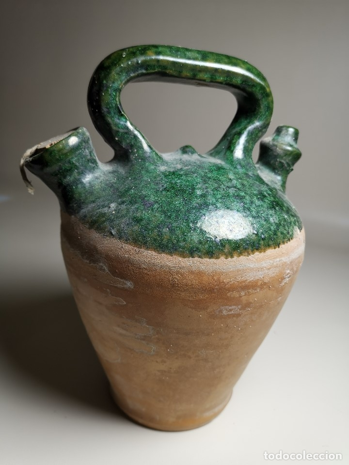 Antigüedades: ALFARERIA CATALANA POPULAR---BOTIJO--CANTIR--VIDRIADO.- REF-ZZ - Foto 13 - 181081550