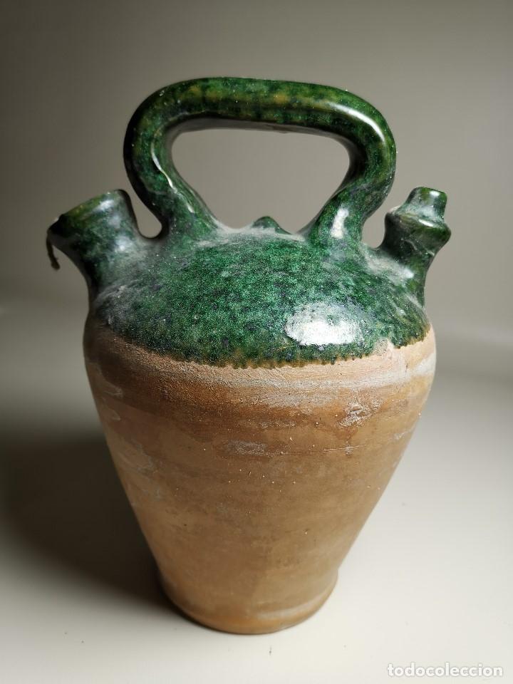 Antigüedades: ALFARERIA CATALANA POPULAR---BOTIJO--CANTIR--VIDRIADO.- REF-ZZ - Foto 15 - 181081550