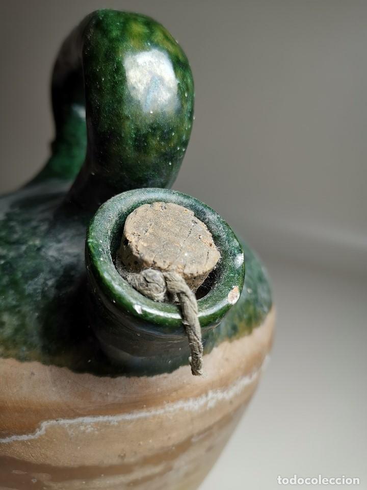 Antigüedades: ALFARERIA CATALANA POPULAR---BOTIJO--CANTIR--VIDRIADO.- REF-ZZ - Foto 16 - 181081550