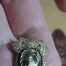 Antigüedades: ANTIGUO PIN PASADOR. RELIGIOSA O SANTA SIN IDENTIFICAR.. Lote 181094180