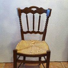 Antigüedades: JUEGO DE 6 SILLA DE PEINETA ENEA. Lote 181098676