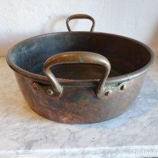 Antigüedades: CAZUELA DE COBRE . Lote 181099011