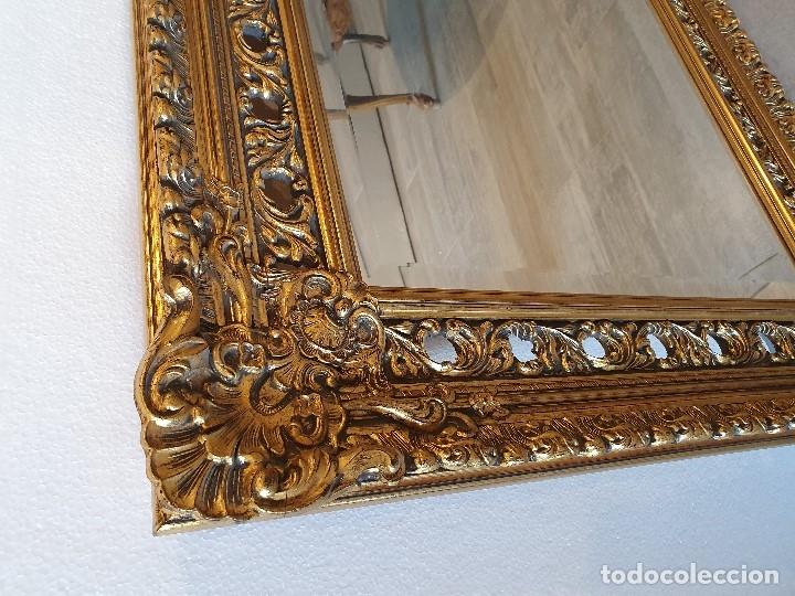 Antigüedades: ESPEJO PAN DE ORO - Foto 4 - 181099762
