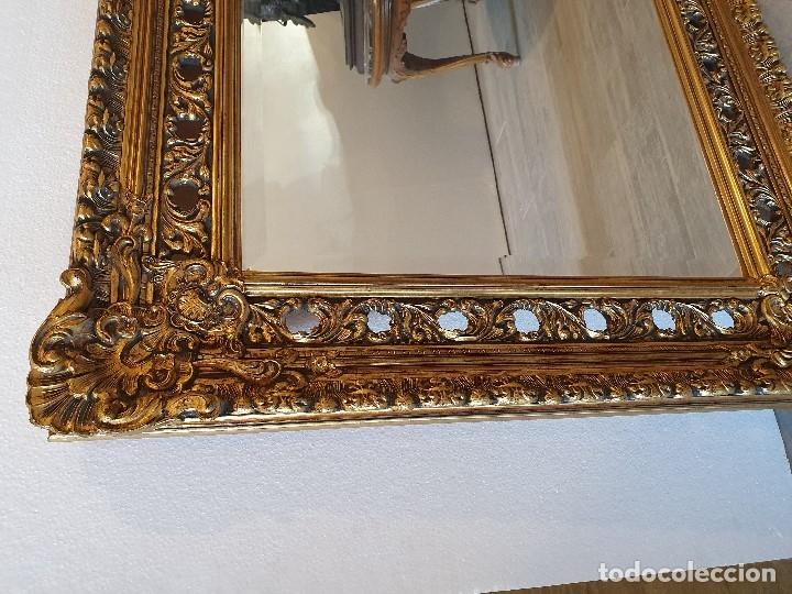 Antigüedades: ESPEJO PAN DE ORO - Foto 5 - 181099762
