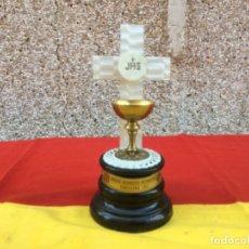 Antigüedades: CÁLIZ CONMEMORATIVO DEL XXXV CONGRESO EUCARÍSTICO INTERNACIONAL DE BARCELONA - 1952. Lote 181109370