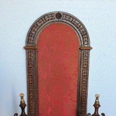 Antigüedades: CAPILLA RETABLO DE ROBLE. Lote 181117971