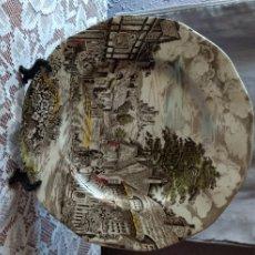 Antigüedades: PLATO ( PORCELANA ENOCH WEDGWOOD ENGLAND 1835 ). MÁS PORCELANAS ANTIGUAS EN MI PERFIL.. Lote 181131290