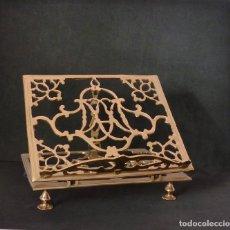 Antigüedades: ATRIL DE BRONCE. Lote 181136086