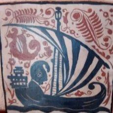 Antigüedades: SOCARRATS PINTADOS A MANO. Lote 181144687