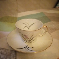 Antigüedades: ANTIGUO SOLITARIO DE CAFE,PORCELANA SANTA CLARA VIGO. Lote 181146346