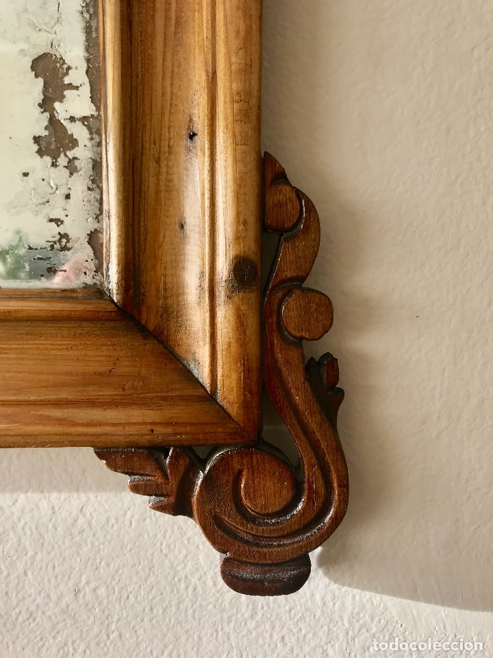 Antigüedades: Espejo de estilo isabelino - Foto 2 - 181162797