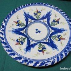 Antigüedades: ANTIGUO PLATO FLOREADO JOSE FERNANDEZ PUENTE A R. Lote 181163170