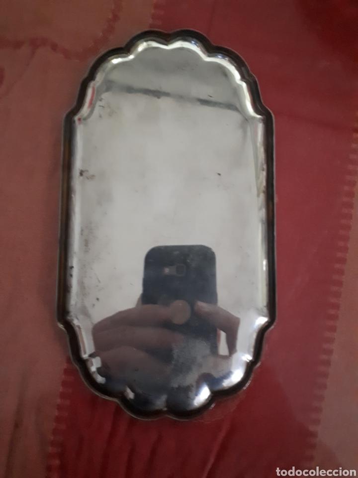 Antigüedades: Bandeja de plata de ley siglo XIX - Foto 3 - 181180675
