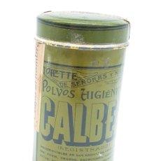 Antigüedades: BOTE TALCO CALBER ( AÑOS 50 ). Lote 181185736