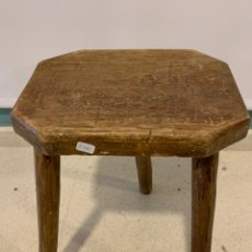 Antigüedades: TABURETE ANTIGUO. Lote 195162087