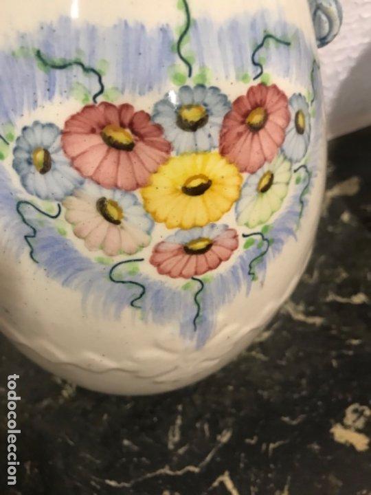 Antigüedades: Antiguo Jarrón cerámica SXIX - Foto 2 - 181213800