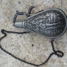 Antigüedades: RECIPIENTE PARA PÓLVORA, POLVORÍN. Lote 181217327