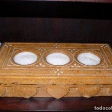 Antigüedades: PIEDRA DE INDIA DE ALTAR. Lote 181341276
