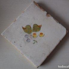 Antigüedades: AZULEJO. FÁBRICA DE VALENCIA. C. 1820. ORIGINAL¡¡¡¡. Lote 181343871