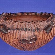 Antigüedades: CERAMICA PAREJA CALABAZAS DEMONÍACAS. Lote 181350137