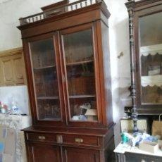 Antigüedades: MUEBLE VITRINA DEL SIGLO XIX. Lote 181352273