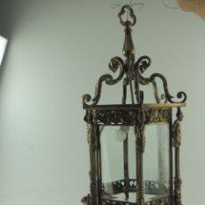 Antigüedades: ANTIGUA ESPECTACULAR LAMPARA DE TECHO EXCELENTE OBJETO DE DECORACIÓN ¡SOLO RECOGIDA LOCAL!. Lote 181364207