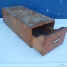 Antigüedades: ANTIGUO ARCHIVADOR O CAJON AÑOS 40. Lote 181426431