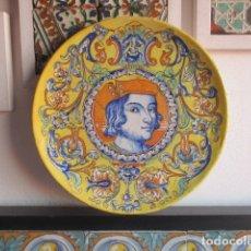 Antigüedades: PLATO CERAMICA TALAVERA. Lote 181427331