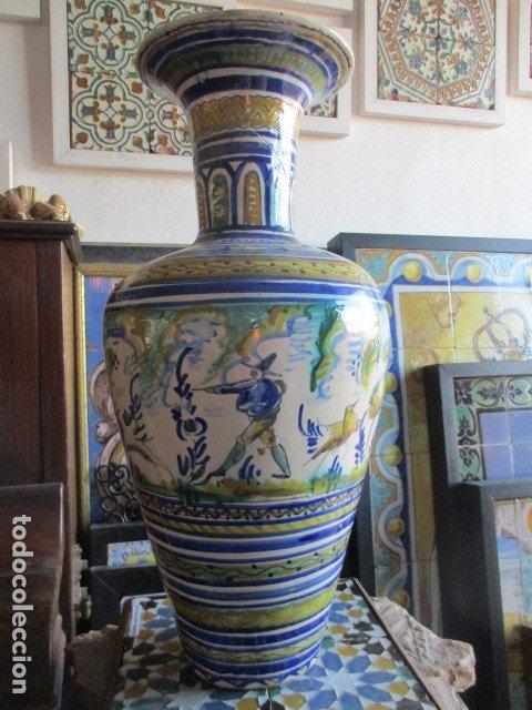 JARRON CERAMICA DE TRIANA (Antigüedades - Porcelanas y Cerámicas - Triana)