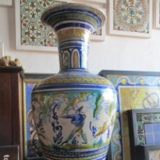 Antigüedades: JARRON CERAMICA DE TRIANA . Lote 181427607