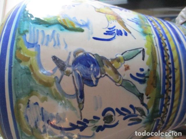 Antigüedades: Jarron ceramica de Triana - Foto 2 - 181427607