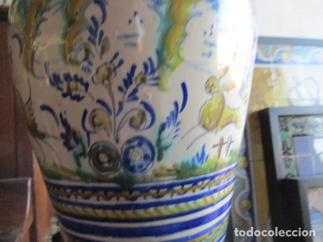 Antigüedades: Jarron ceramica de Triana - Foto 4 - 181427607