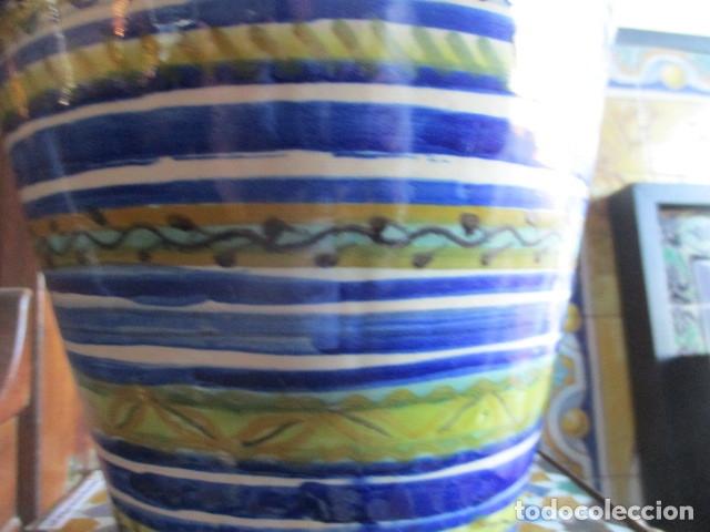 Antigüedades: Jarron ceramica de Triana - Foto 5 - 181427607