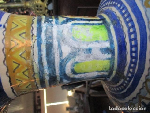 Antigüedades: Jarron ceramica de Triana - Foto 8 - 181427607
