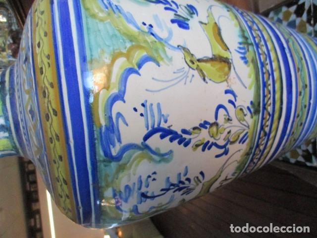Antigüedades: Jarron ceramica de Triana - Foto 9 - 181427607