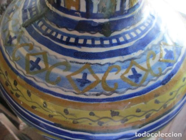 Antigüedades: Jarron ceramica de Triana - Foto 10 - 181427607