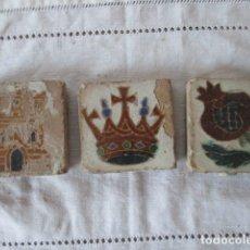 Antigüedades: AZULEJOS OLAMBRILLAS . Lote 181428532