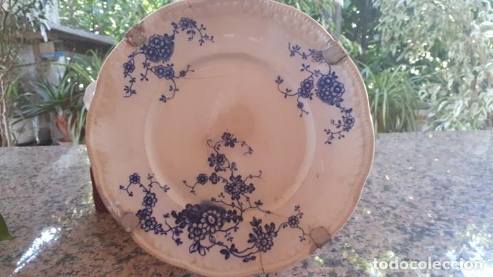 ANTIGUO PLATO DE LA CARTUJA (Antigüedades - Porcelanas y Cerámicas - San Juan de Aznalfarache)