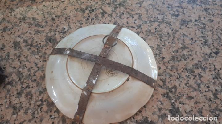 Antigüedades: antiguo plato de la cartuja - Foto 4 - 181430642