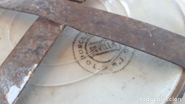 Antigüedades: antiguo plato de la cartuja - Foto 5 - 181430642