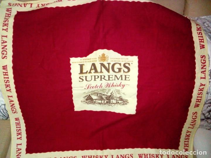 PAÑUELO-WHISKY LANGS (Antigüedades - Moda - Pañuelos Antiguos)