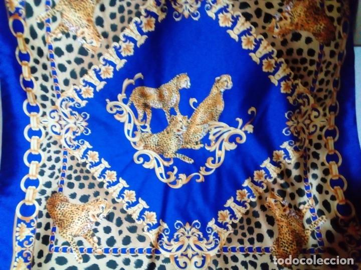 PAÑUELO ITALIANO (Antigüedades - Moda - Pañuelos Antiguos)