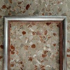Antigüedades: MARCO BRUÑIDO EN PAN DE PLATA .. Lote 181447768