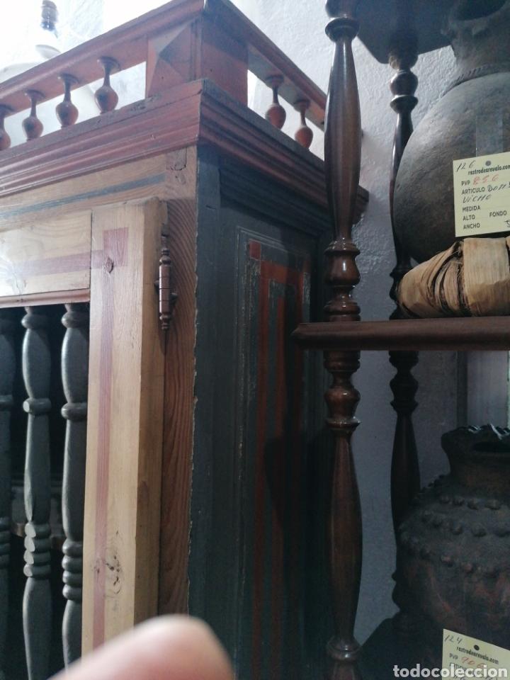Antigüedades: Alacena pintada de palitos - Foto 3 - 181449133