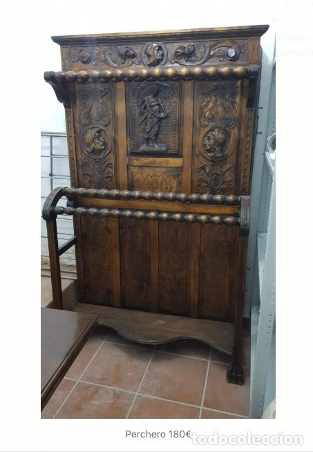 PERCHERO, RECIBIDOR. (Antigüedades - Muebles Antiguos - Auxiliares Antiguos)