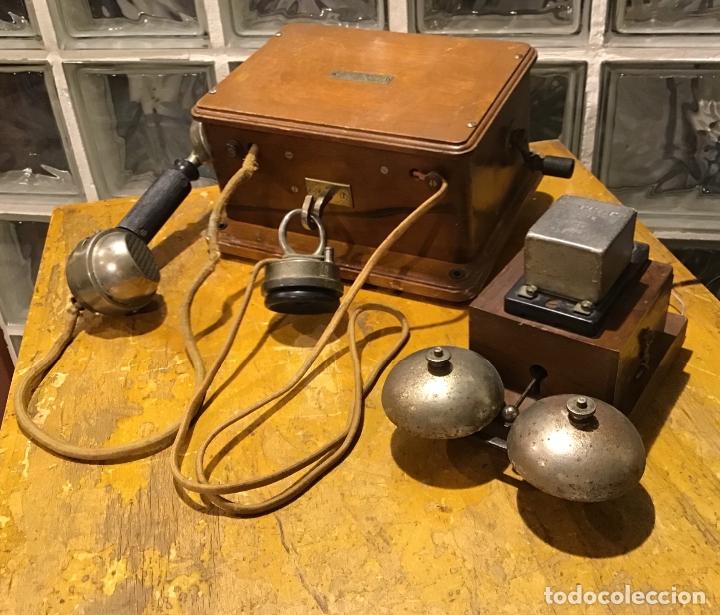 UNÍS JB, TELÉFONO AÑOS 20 (Antigüedades - Varios)