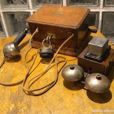Antigüedades: UNÍS JB, TELÉFONO AÑOS 20. Lote 181468006